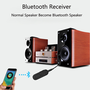 Image 4 - Bluetooth משדר Bluetooth מקלט אלחוטי מתאם 3.5mm קולט עבור רכב אודיו רמקולים ערכת טלוויזיה רמקול אוזניות טלפון