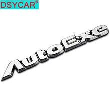 DSYCAR 1Pcs 3D Metallo Autoexe Auto Lato Parafango Posteriore Tronco Emblem Badge Sticker Adesivi per Mazda Atenza Accessori Decorativi