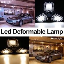 100W 80W 60W E27 Led Bulb Light Deformable Lamp E26 220V Garage Lighting Warehouse Factory Basement Ceiling 110V