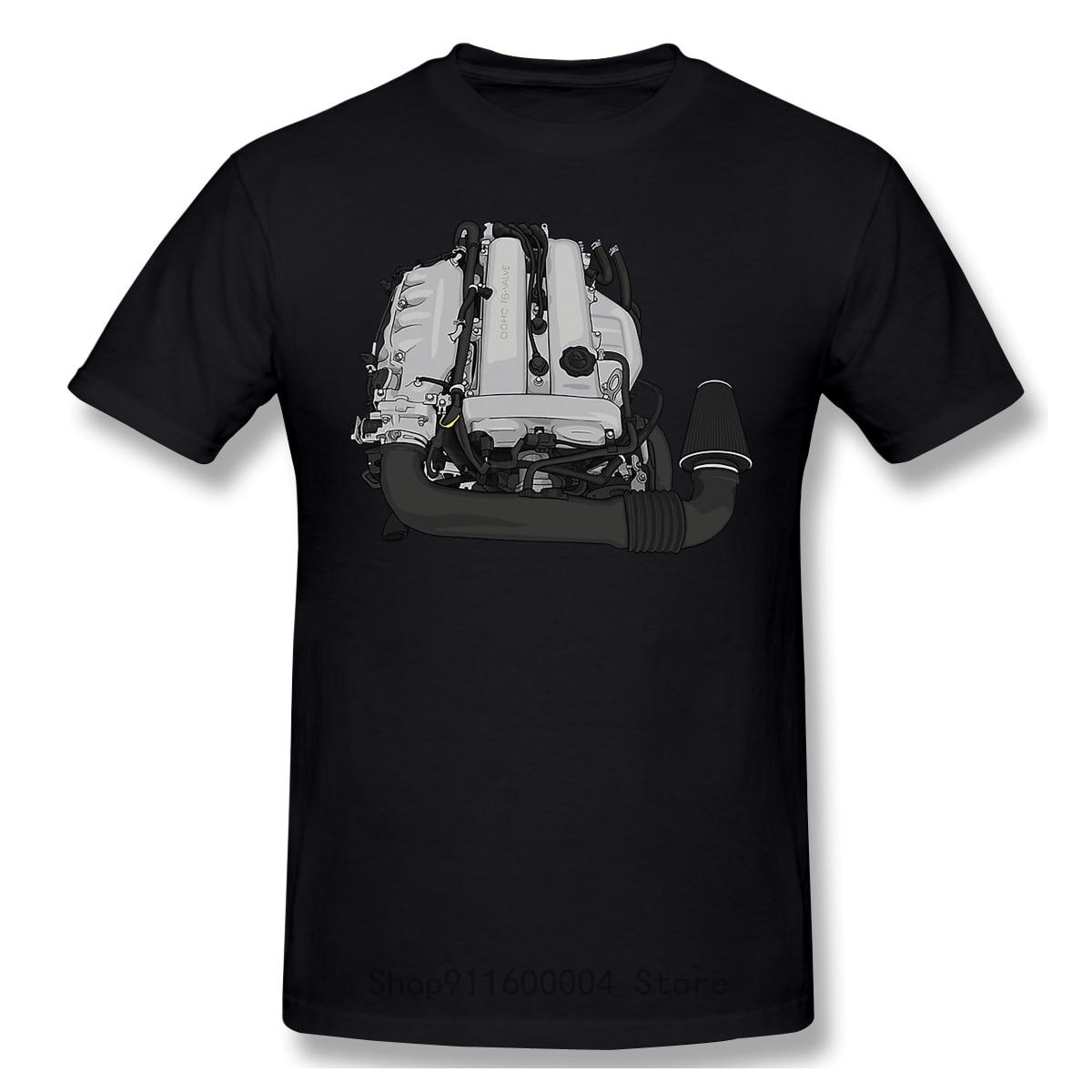 MX 5 Miata BP18 наклейка на двигатель артимотива крутая и забавная Повседневная модная хлопковая футболка с коротким рукавом футболки
