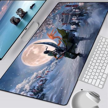 Jeden kawałek mysz z kreskówki Pad Anime komputer przenośny XL podkładka pod mysz Overlock krawędzi duży gry gracza do laptopa prędkości podkładka pod mysz do klawiatury tanie i dobre opinie MLLSE RUBBER Zdjęcie