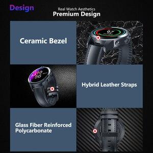 Image 3 - [Kostenloser Leder Straps] TWS Kopfhörer Neue Flaggschiff Zeblaze THOR 5 PRO Keramik Lünette 3GB + 32GB dual Kamera Gesicht Entsperren Smart Uhr