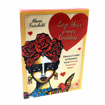 2020 New love your inner goddess oracle cards Full English mysterious fortune tarot cards game for girls family card game new knowledge wisdom oracle cards 52 cards set english mysterious fortune tarot cards game for girls family card game