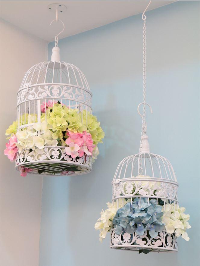 14x2 5/19х35 см ручной работы античные белые металлические декоративные свадебные клетки для птиц Набор Свадебные украшения Свадебные сувениры и подарки|Птичьи клетки и гнезда| | - AliExpress