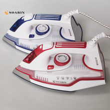 Steam Iron Handheld Household Adjustable Multifunction Portable Iron Machine Ceramic Soleplate Electric Steam Iron For Clothes