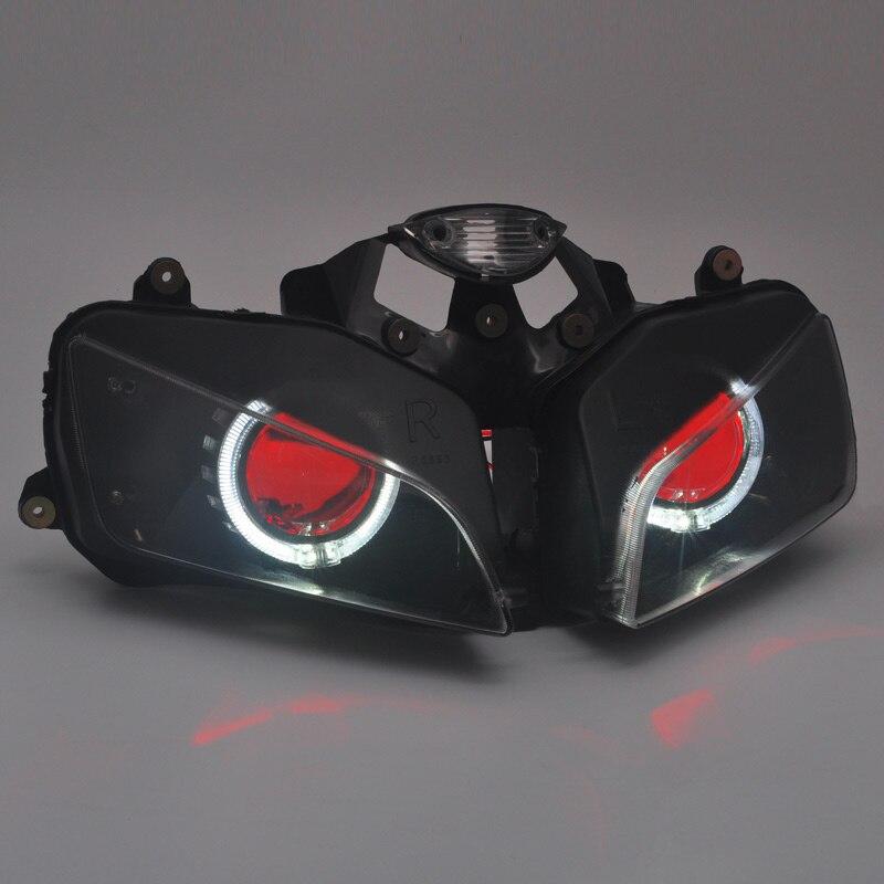 Motorcycle Front Headlight Custom Headlamp Fit For  Honda CBR600RR 2003 CBR 600RR 2004 CBR600 RR 2005 CBR 600 RR 2006