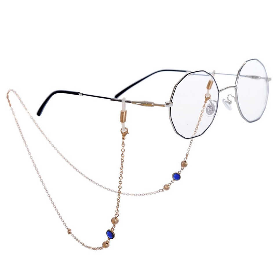 High Beaded Glasses Chain Cord Spectacles Eyewear Necklace Strap Holder