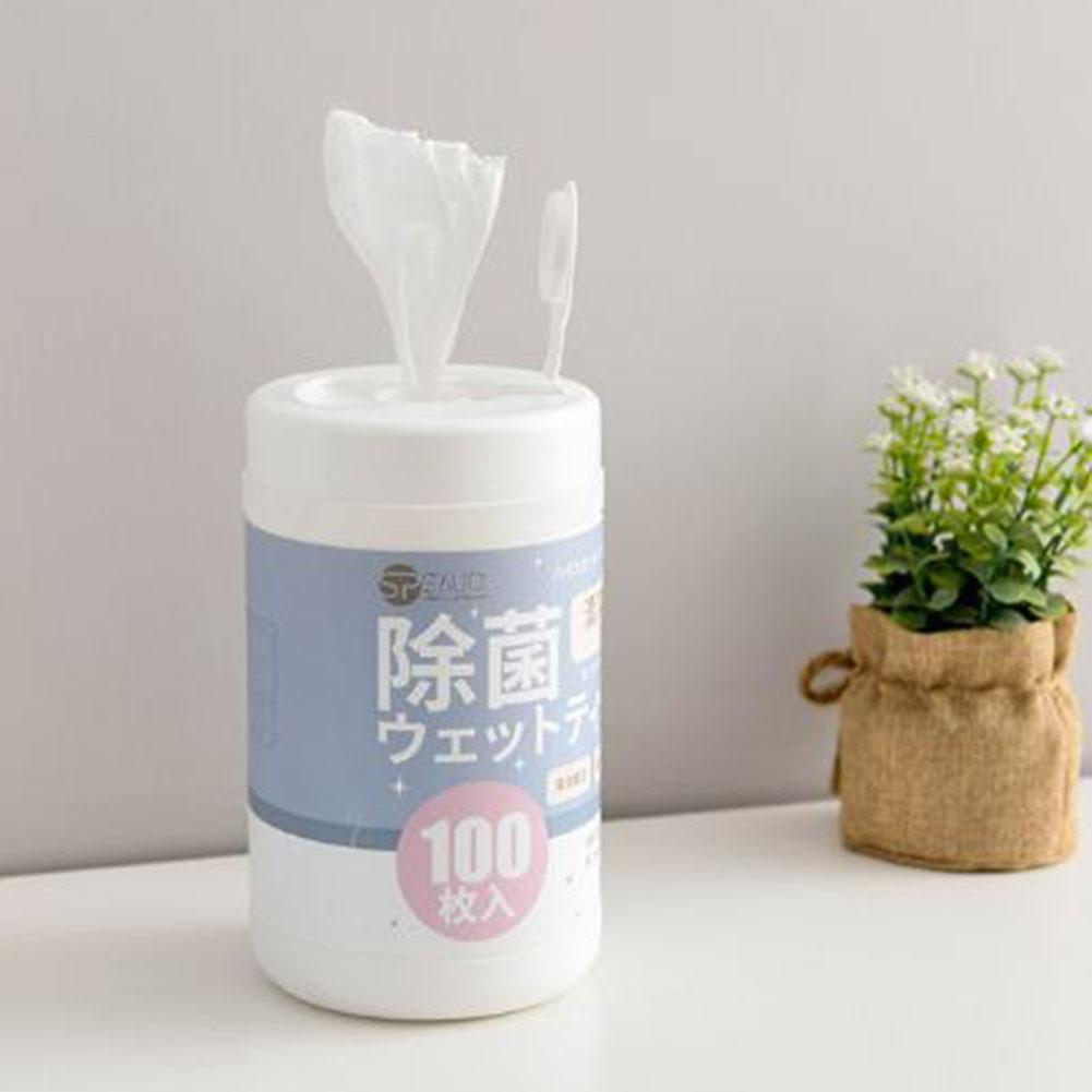 200 Pcs Cleaning Wipes Multi-Purpose Portable Alcohol Swabs Pads Wipes Cleanser Cleaning For Household Use
