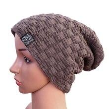 Теплая мужская шапка, осенняя и зимняя уличная вязаная шапка, Женская Корейская версия велосипедной шапки, новинка, женская вязаная шапка для пеших прогулок