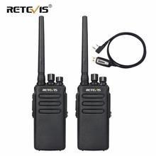 Портативная рация Retevis RT81, высокомощное цифровое радио DMR, 2 шт., влагозащита IP67, UHF VOX, двухстороннее радио для фермы, заводского склада