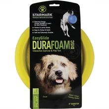 Starmark Easy Glide Dura-Foam Flying Disc Dog Toy Color Varies
