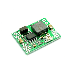 1PC Mini DC-DC 24V to 12V 9V 5V 3V 3A Step Down Power Supply Module Voltage Buck Converter Adjustable 92% Stabilivolt Module цена