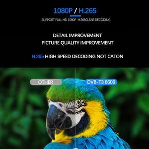 Image 3 - Vmade أحدث الأرضية تلقي DVB T2 كامل HD 1080P DVB T2 H.265 فك موالف دعم بنيت واي فاي يوتيوب AC 3 قمة مجموعة