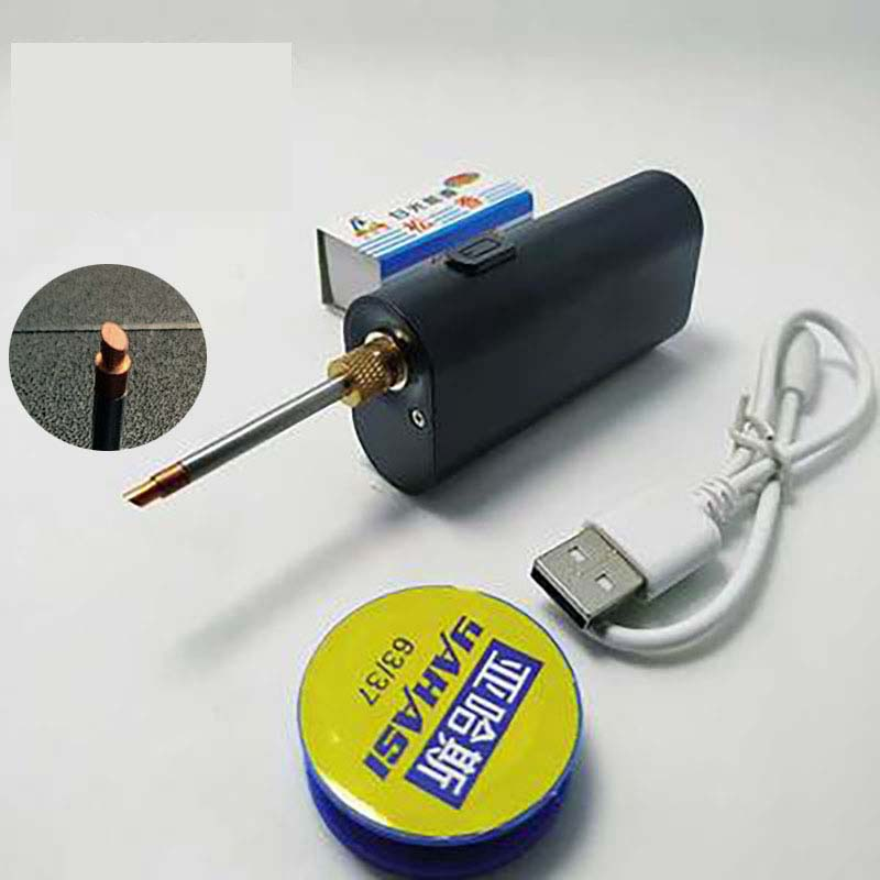5V 40W Portable USB Soldering Iron Wireless Charging Soldering Iron Soldering Tool Android Interface Charging