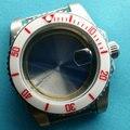40 мм parnis керамический чехол для часов Fit ETA 2836 DG2813 3804 Miyota 8215 механизм