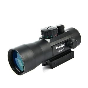 3X44 Green Red Dot Sight Scope