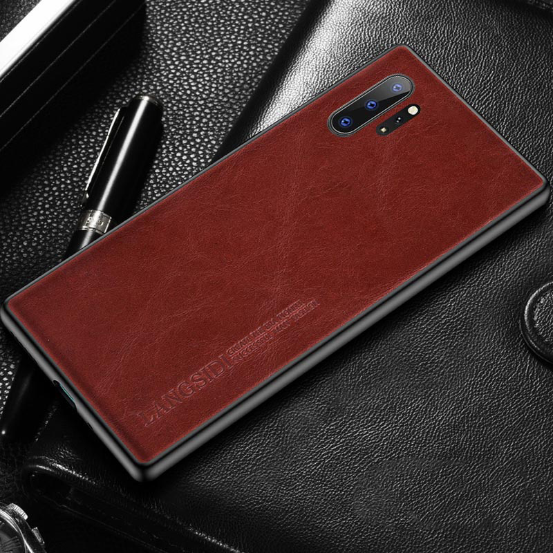 Genuine Oil wax Leather phone case for Samsung galaxy S20 Ultra Note 10 8 9 Plus A51 A50 A70 A71 A30 A8 S10 S7 S8 S9 S20 Plus