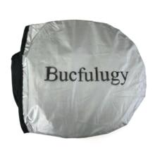 Bucfulugy 2PCS black side car shades Rear window shades cover mesh sun visors Sun shields and visors for motor cars