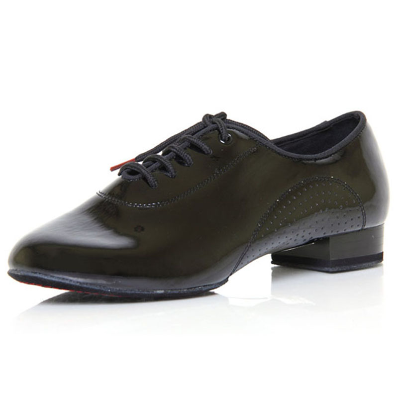 Men Standard Dance Shoes BD 309 SHINING Split Sole Ballroom Dance Shoes Modern Dancing Dancesport Indoor Shoe