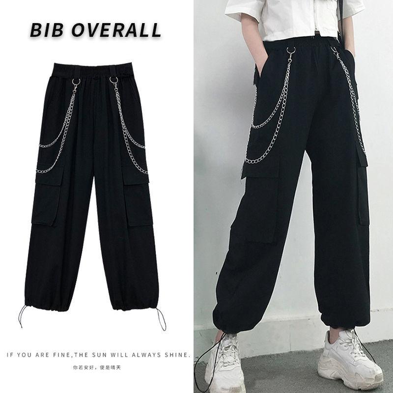 Купить женские летние свободные брюки с завышенной талией