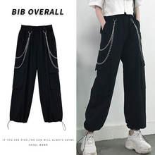 Женские летние свободные брюки с завышенной талией