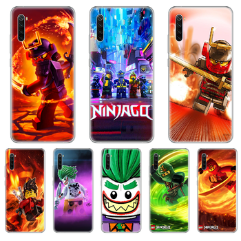 Le-GO Ninjago Masters of Phone Case cover For xiaomi Redmi 3S 4A 5A 6A 5 Plus 4X 7 8 8a CC9 K20 Pro K30 transparent cover art image
