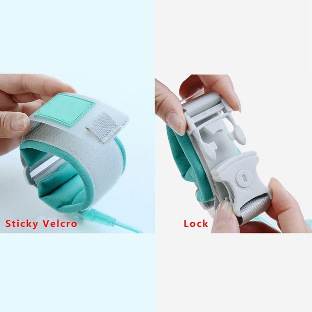 1.5M 2M 2.5M Toddler Kids Baby Safety Walking Harness Anti-lost Strap Wrist Leash Children Hand Belt Rope 3