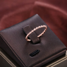 Exquisite Simple Rose Gold…