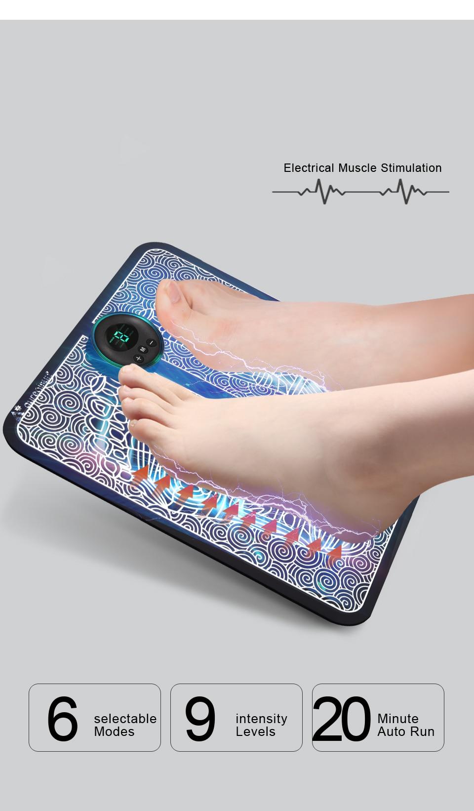 EMS Foot Massager Mat 7