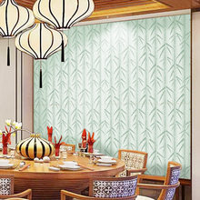 Chinese Natural Green Bamboo Wallpaper Mural Living Room Bedroom Hotel TV Background Wall Decals PVC Self Adhesive Wallpapers(China)