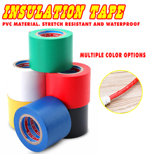 цена на Wide Electrical Insulation Tape Electrical Wire Tape Waterproof PVC Insulation Tape. 5 Cm 50mm High Temperature Wide Wide Type