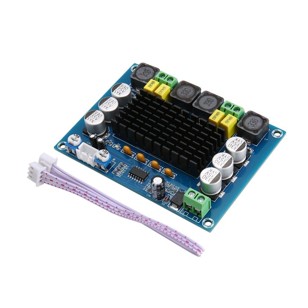 TPA3116D2 Dual channel Stereo High Power Digital Audio Power Amplifier Board 2*120W XH-M543 Power Amplifier Module