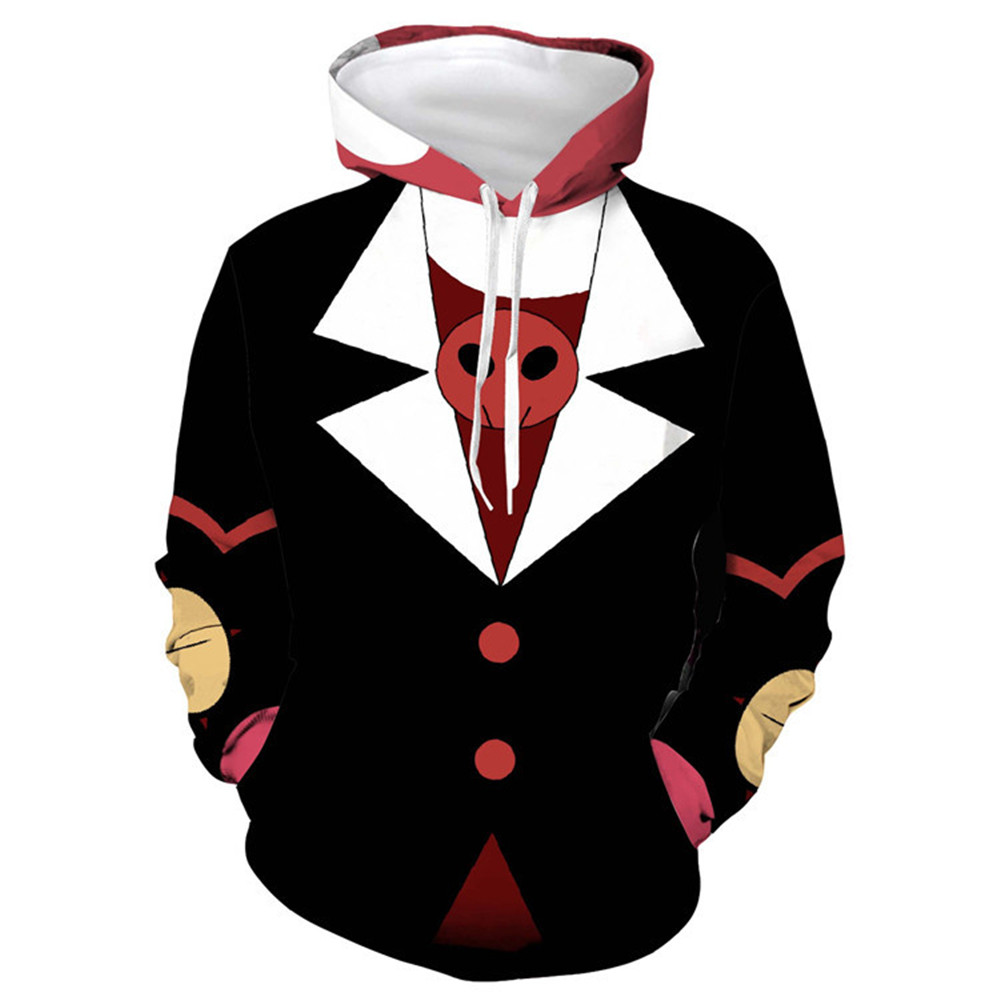 Hazbin Hotel Cospaly Helluva Boss Dust Angel Charlotte Vaggie  Alastor Hoodie Sweatshirt For Men Women Uniform Coat Top Costume