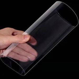 Envío Gratis, 2 hojas de espesor de 1mm, lámina de PVC transparente, lámina de plástico de PVC rígido, marco de fotos montado, película de PVC de doble cara