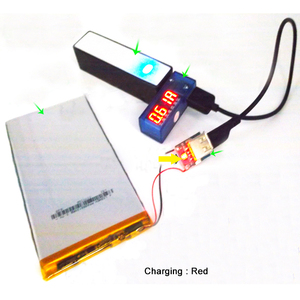 Image 3 - Lithium Battery Module Protection Li ion Charger 134N3P Power Converter Regular Voltage 5V 1A Step Up Charging Board Micro USB