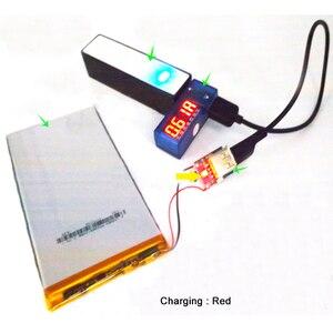 Image 3 - Zabezpieczenie modułu baterii litowej ładowarka litowo jonowa 134N3P konwerter zasilania regularne napięcie 5V 1A płytka ładująca Micro USB