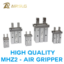 SMC Type MHZ2 Double Acting Air Pneumatic parallel Gripper MHZ2-10D 16D 20D 25D 32D MHZ2-40D Pneumati caluminium clamp Finger mhz2 10d parallel style air gripper cylinder double acting sns pneumatic parts finger air claw