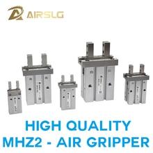 цена на SMC Type MHZ2 Double Acting Air Pneumatic parallel Gripper MHZ2-10D 16D 20D 25D 32D MHZ2-40D Pneumati caluminium clamp Finger