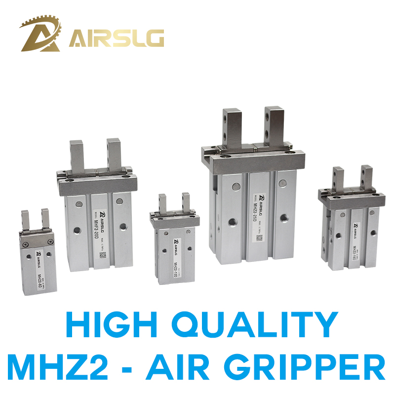 Single acting Normally open Air Pneumatic parallel Gripper MHZ2-10S MHZ2-16S MHZ2-20S MHZ2-25S MHZ2-32S MHZ2-40S Normally closed