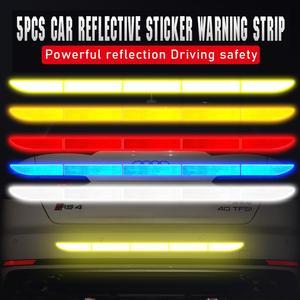 Calcomanías de advertencia reflectantes para coche, pegatina de parachoques para opel insignia nissan juke xc60 vw mazda 3 audi a6 c6 subaru ibiza