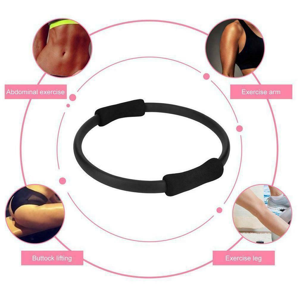 Pilates Ring Magic Circle Dual Grip Sporting Goods Exercise Loop Equipment Yoga Body Fitness Lose Weight Ring Massage B5Q0