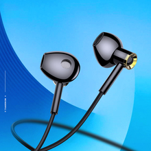 Fashion High Quality HD Clear Super Bass Stereo In-ear Wired Earphones 3.5mm Headset with Mic For iPhone XS Xiaomi