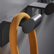 Hook-Hanger Punch-Free Robe Clothes-Hooks Coat Bathroom-Towel Wall-Mounted Waterproof