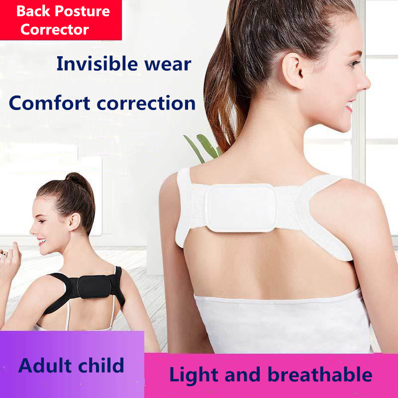 Back Posture Corrector Brace Support Belt Adjustable Back Clavicle Spine Adult Children Shoulder Belt Posture Correction