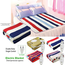 220v Security Plush Electric Blanket Bed Thermostat Electric Heated Mattress Soft Electric Heating Blankets Warmer Heater Carpet silicone riscaldatore coperta 380x380mm 220 380 v 1500w 3d stampante silicone heated bed electric heater