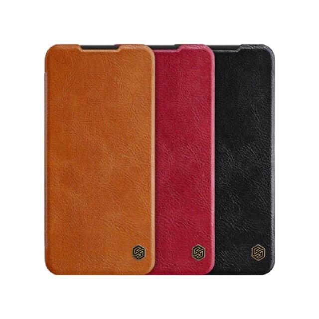حافظة هاتف Redmi K30 Pro K30Pro K30S NILLKIN Qin أغلفة جلدية لهاتف شاومي بوكو X2 F2 Pro X3 NFC Funda جراب Mi 10T Pro Coque