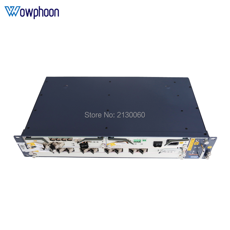 ZTE C320 GPON EPON OLT Optical Line Terminal With Chassis+Fan+2*SMXA/3(DC), Accessories