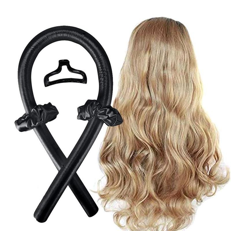 BounzeUp Heatless Hair Curling Wrap Kit