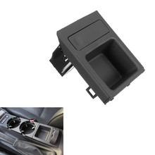 Black Center Console Armrest Tray Coin Box Holder Storage Tray Fit for BMW E46 3 Series 325 1998-2005(China)