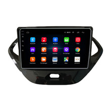 9 pulgadas 2 Din coche reproductor Multimedia Android 8,1 Wifi GPS navegación Radio del coche para Ford FIGO 2015-2018 AutoRadio wifi Bluetooth